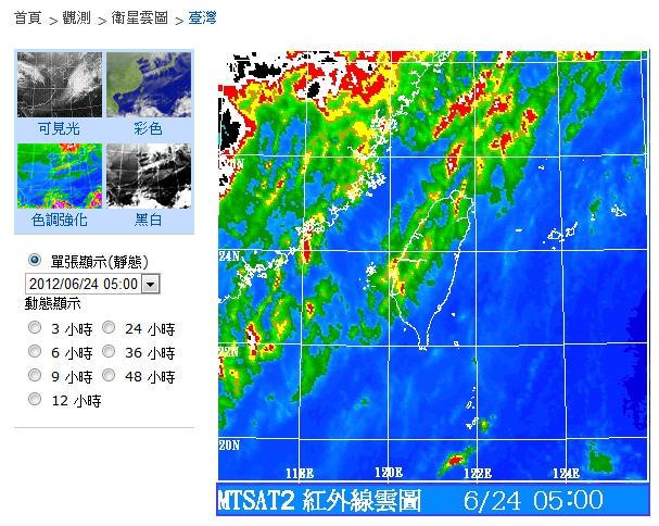2012-06-24 色調強化圖 盛夏出梅北退鋒面前緣雲帶