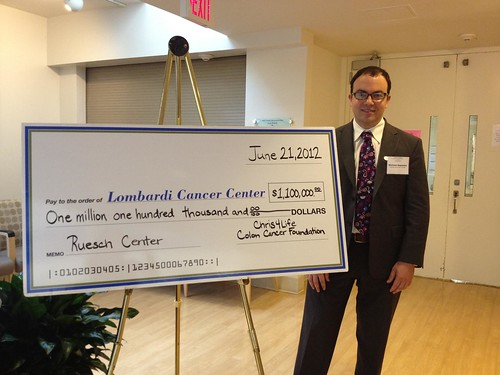 Chris4Life pledges 1.1 million to Lombardi Cancer Center