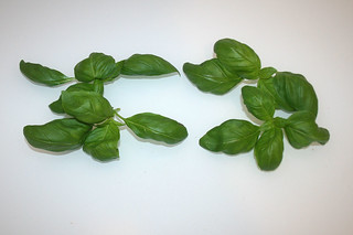 06 - Zutat Basilikum / Ingredient basil