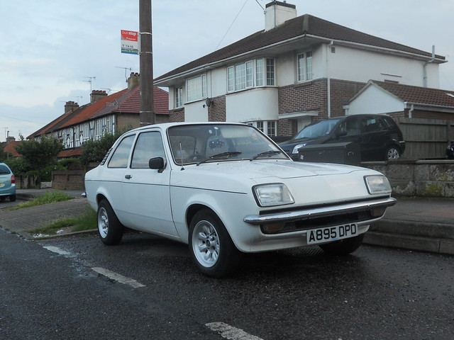 1983 Vauxhall Chevette L by barrogance , on Flickr