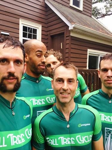 Matt, Alex, Jamie, Iain, Todd.