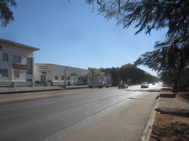 Livingstone Zambia Street Africa