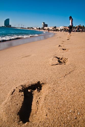 Sant Sebastia Beach, Barcelona