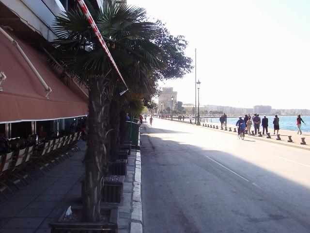 Thessaloniki's coastline