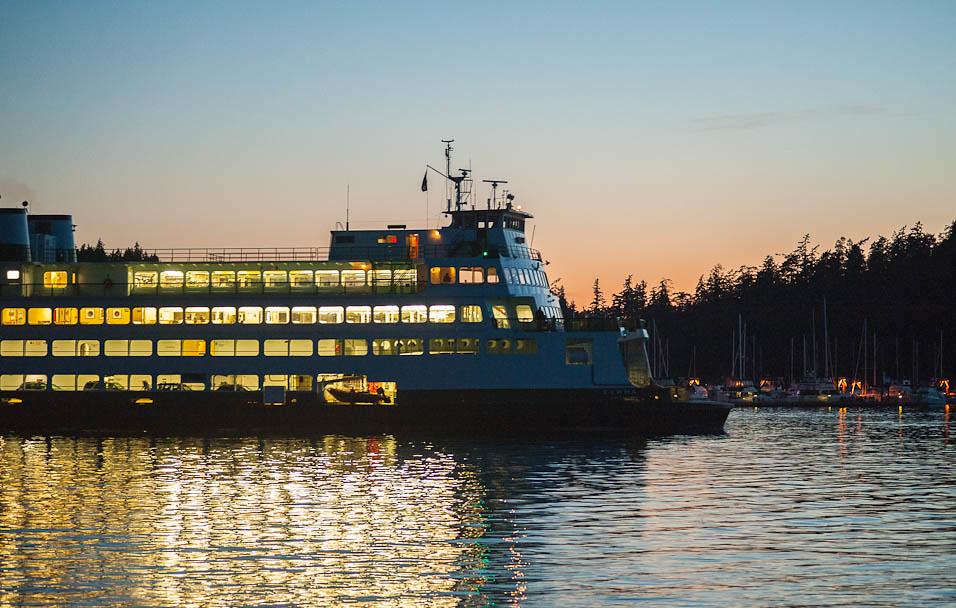 Evening Ferry