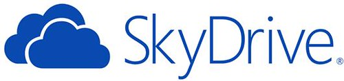 new SkyDrive Logo