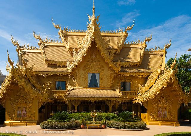 Wat Rong Khun Restrooms, Chiang Rai