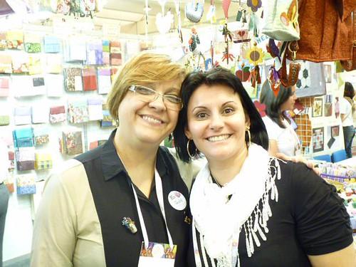 MegaArtesanal 2012 -Eu e a Ana Consentino by miudezas_miudezas