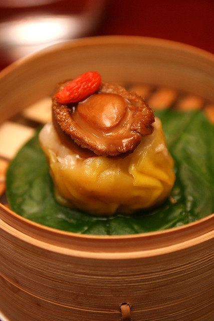 Steamed Pork Dumpling with Shrimp and Baby Abalone