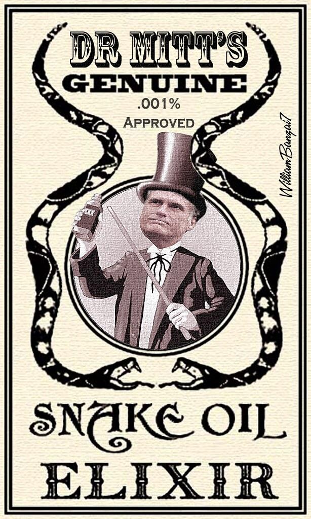 DR MITT'S SNAKE OIL