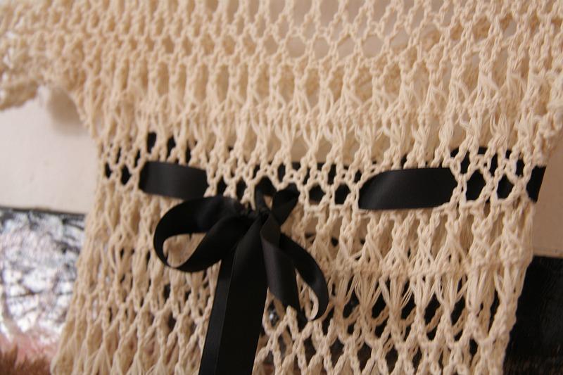 IMG_4405 вязаное платье и бант - гориз