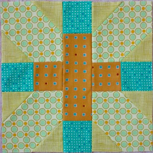 Ba{M}S July Block #2 (Honeycomb 4)