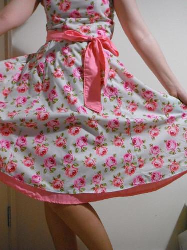 Tea Dress with petticoat!