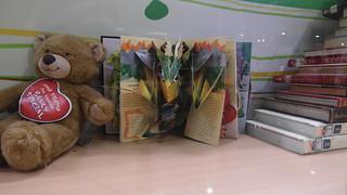 同場加映:板橋智慧館櫥窗裡的立體書