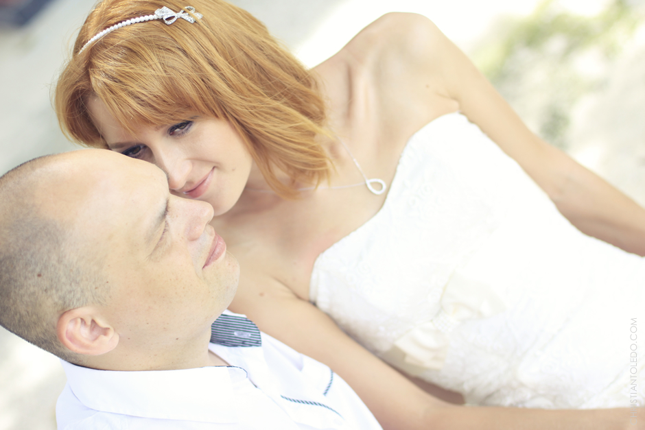 Russian Couple, Kota Beach Resort