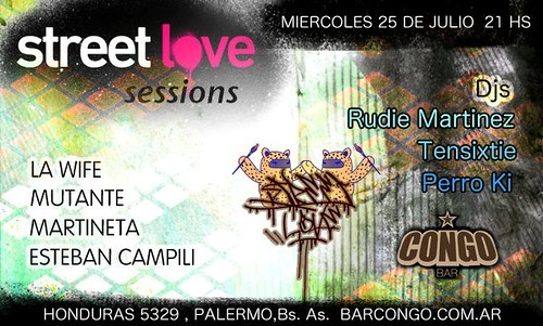 Street Love sessions // Arte + Dj´s by martin diez