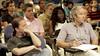 Attendees at BigML's workshop  (by Joan Carles Ambrojo)