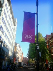Olympic banners