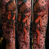 BG Native Sun Dancer Tattoos By Gabe