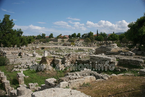 city travel vacation holiday canon greek eos site ancient traditional corinth scenic tourist panoramic photographic architectural greece historical archaeological cultural peloponnese korinthos unspoilt