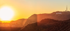 Hollywood Sunset Panorama