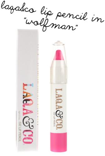 laqa&co lip pencil