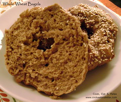 085 whole wheat bagel