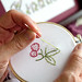 Kindness Embroidery by Clementine Patterns
