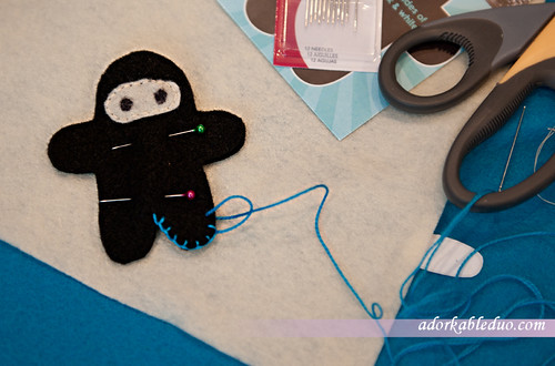 diy ninja plushies for hanging baby crib mobile