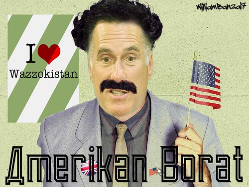 AMERIKAN BORAT by Colonel Flick