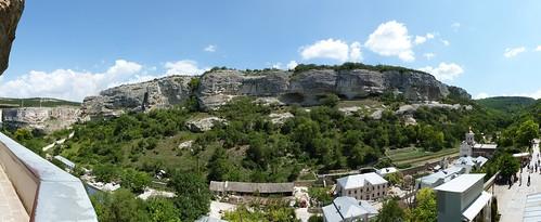 Krim 2012: Panorama Höhlenkloster