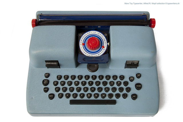 "Marx ""IBM"" typewriter"