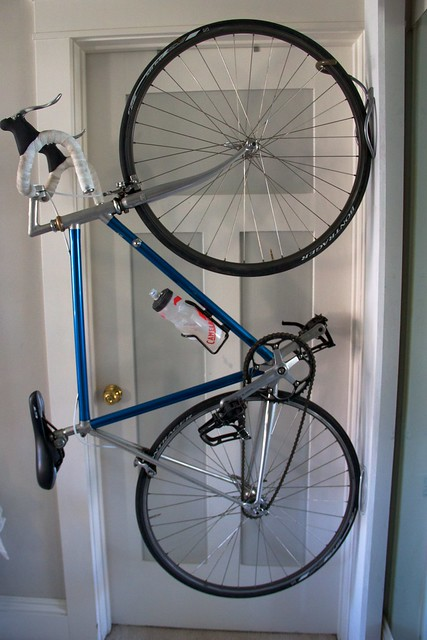 Derwiki Diy Swinging Urban Bike Rack