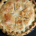 blueberry-nectarine pie
