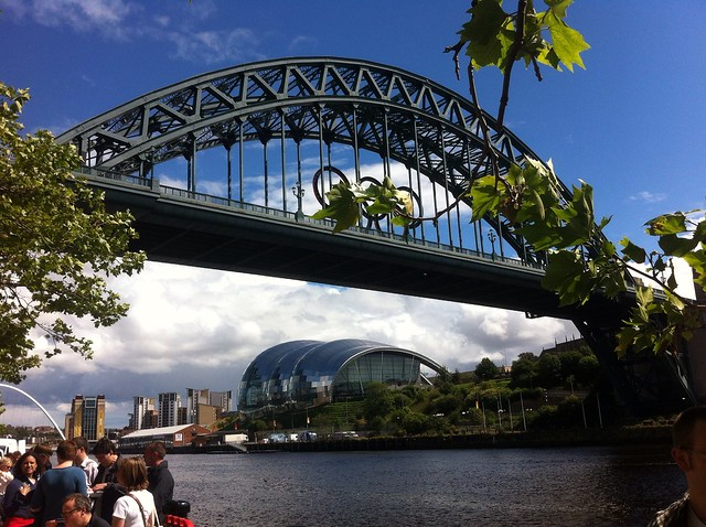 Tyne bridge Eat festival newcastle