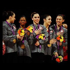 July 31, 2012 - I love gymnastics!!! #teamusa #olympics #gold #london2012 #fab5