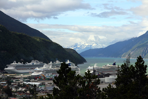 Skagway - Ships in Port