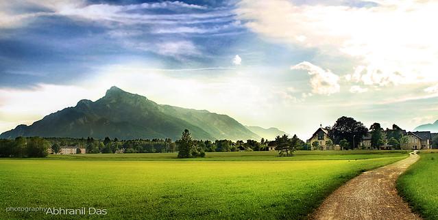 Mt Untersberg processed