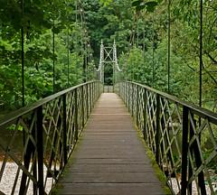 Suspension Bridge, Ilkley