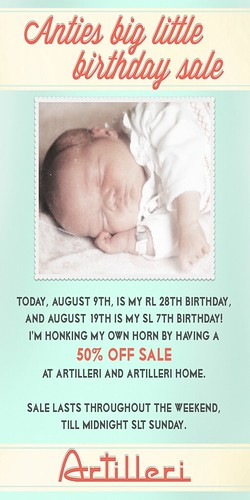 _artilleri_ Artilleri Birthday sale!