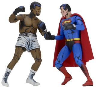 2D 漫畫效果3D 立體化?!NECA【超人對阿里:拳王爭霸】Superman vs. Muhammad Ali 雙人組合包