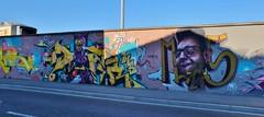 Graffiti Toulouse, Gare Matabiau - Photo of Monbéqui
