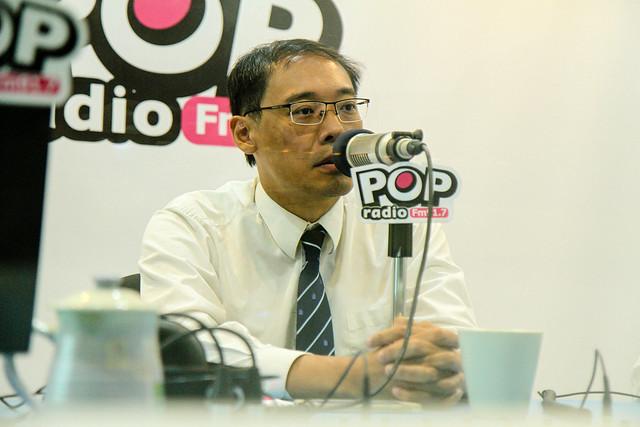 160823楊偉中電台受訪