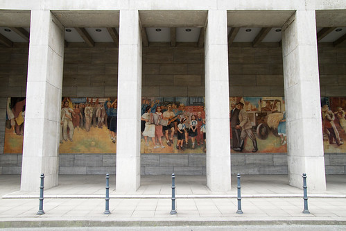 East German mural