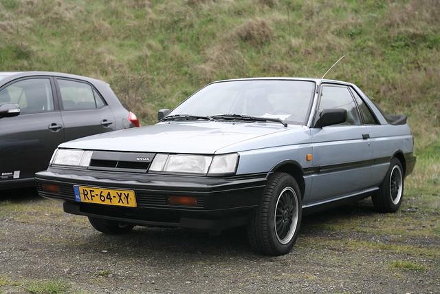Oldskool Nissan Sunny B12 Coupe