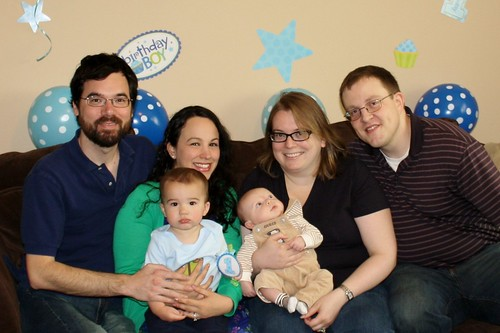 James's 1st Birthday Party 2012