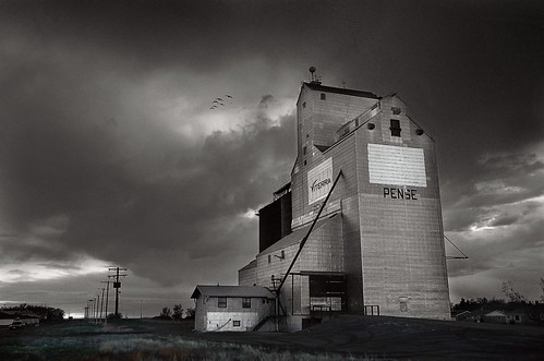 Storm Clouds at Pense, SK.