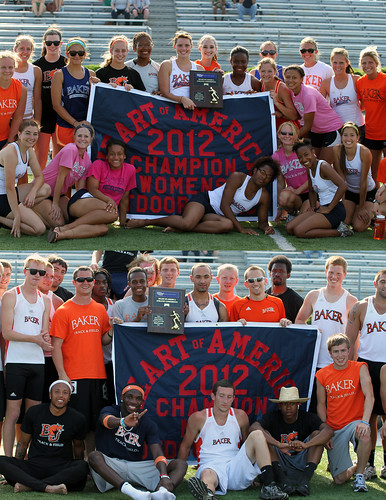 2012 HAAC Champions Baker Track and Field