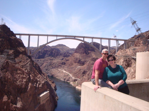 Greg and I at the Hoover Dam 4/12
