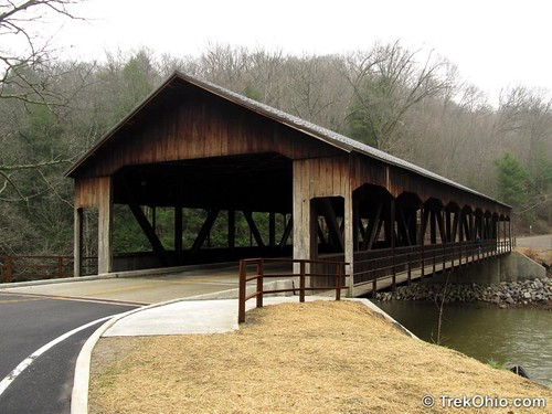 Covered Bridge at Mohican State Park